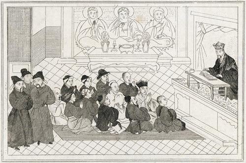 Emperor Wu-ti court