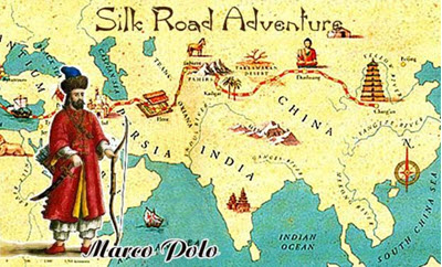 Marco Polo and his travels - Who was Marco Polo? - Silk-Road.com on xuanzang map, zheng he map, fra mauro map, ferdinand magellan map, star wars rebels map, z nation map, sense8 map, world map, symphonia map, gutenberg map, bloodline map, bartholomew dias map, mimosa map, pirate 101 marco pollo's map, ibn battuta map, vasco da gama map, crusades map, giovanni da verrazano map, constantinople map, sir francis drake map,
