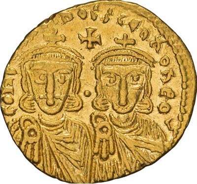 Byzantine solidus