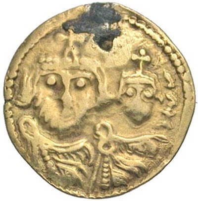 Sogdian imitation coin